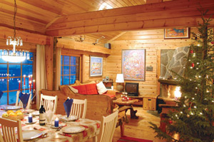 Santa Cabin Dining and Lounge