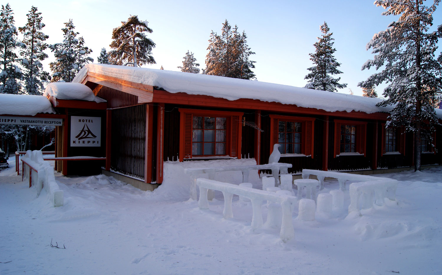 Saariselkä Inn - Entrance