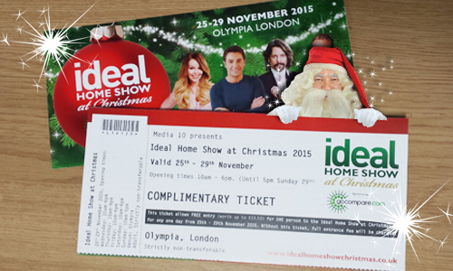 win tickets to the ideal home show at christmas santa s lapland
