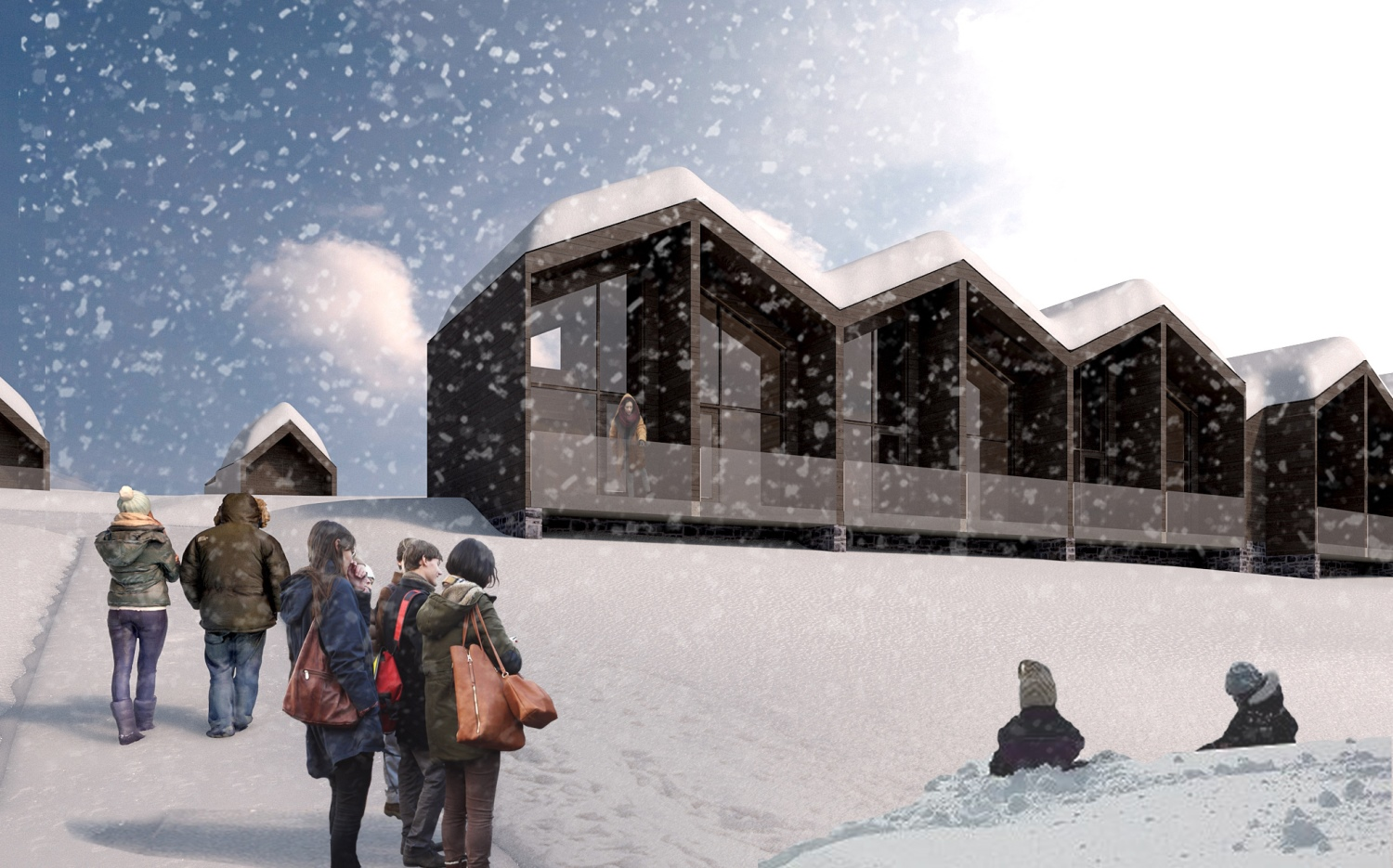 Star Arctic Hotel - Exterior view (artist's impression)