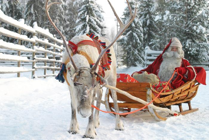 santa claus, lapland, snowy lapland, father christmas