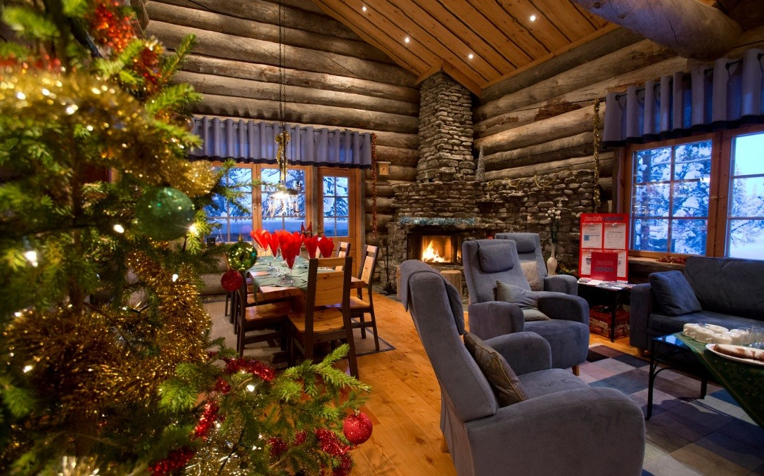Lapland Christmas holiday cabin